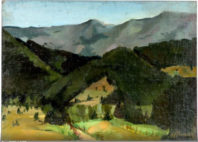 Мария Рилска – пейзаж