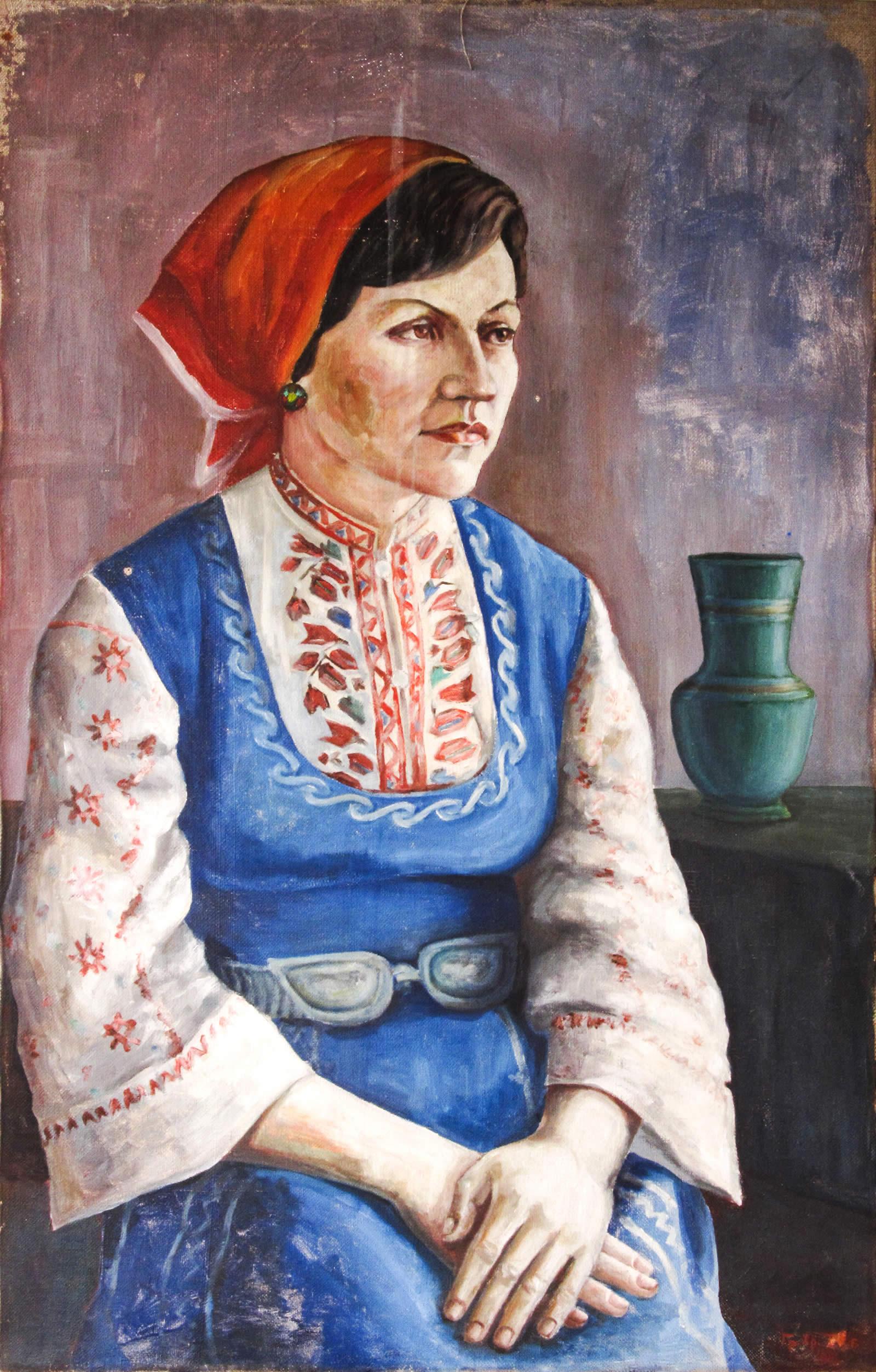 Портрет на жена в носия – Григор Спиридонов