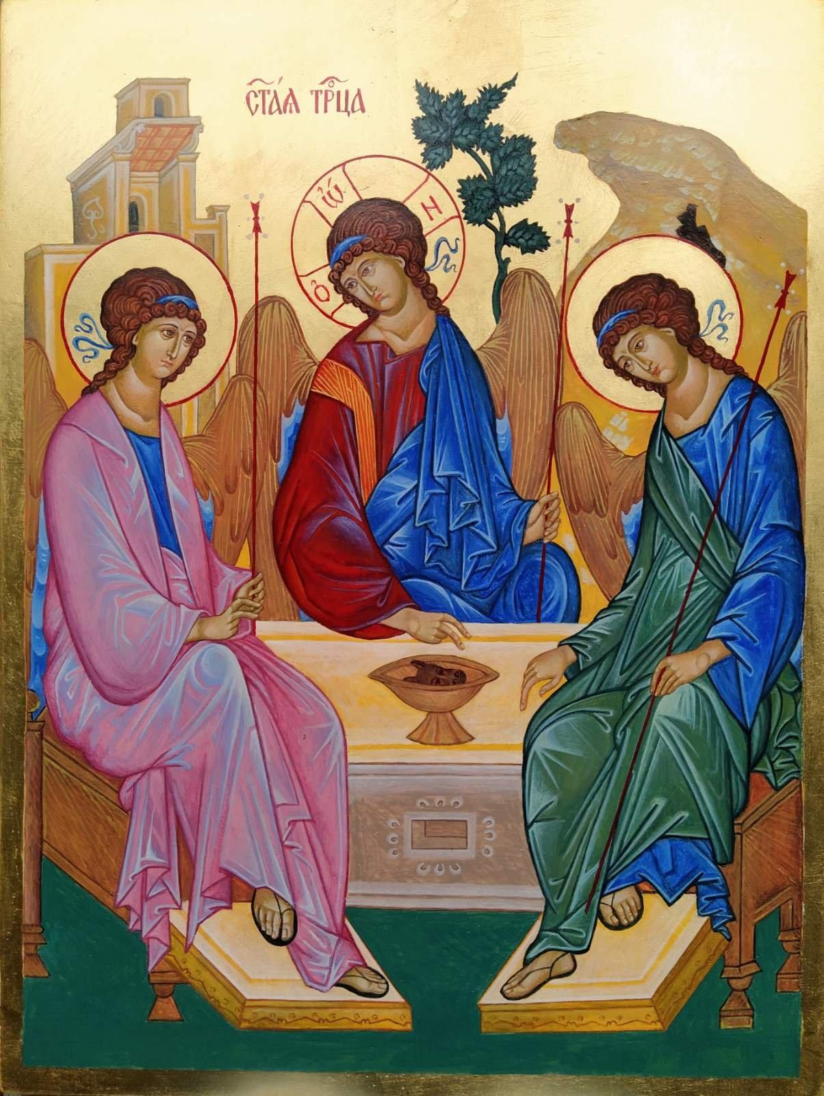 Андрей Рубльов – Старозаветна Света Троица – копие
