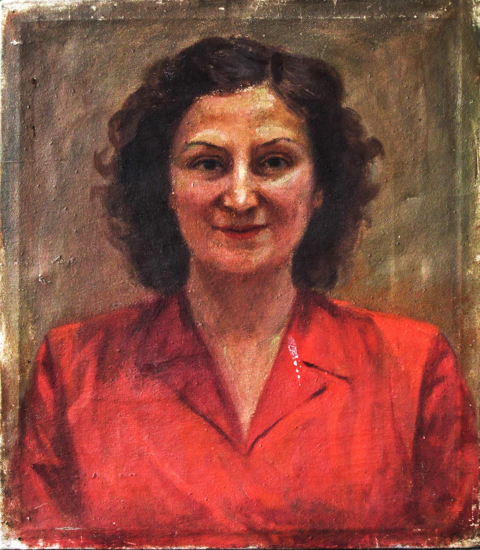 Портрет на младата Татяна Лолова