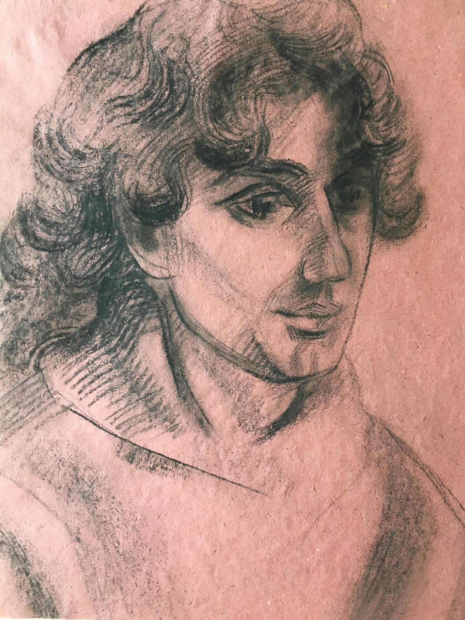 Портрет на мъж – Елка Найденова