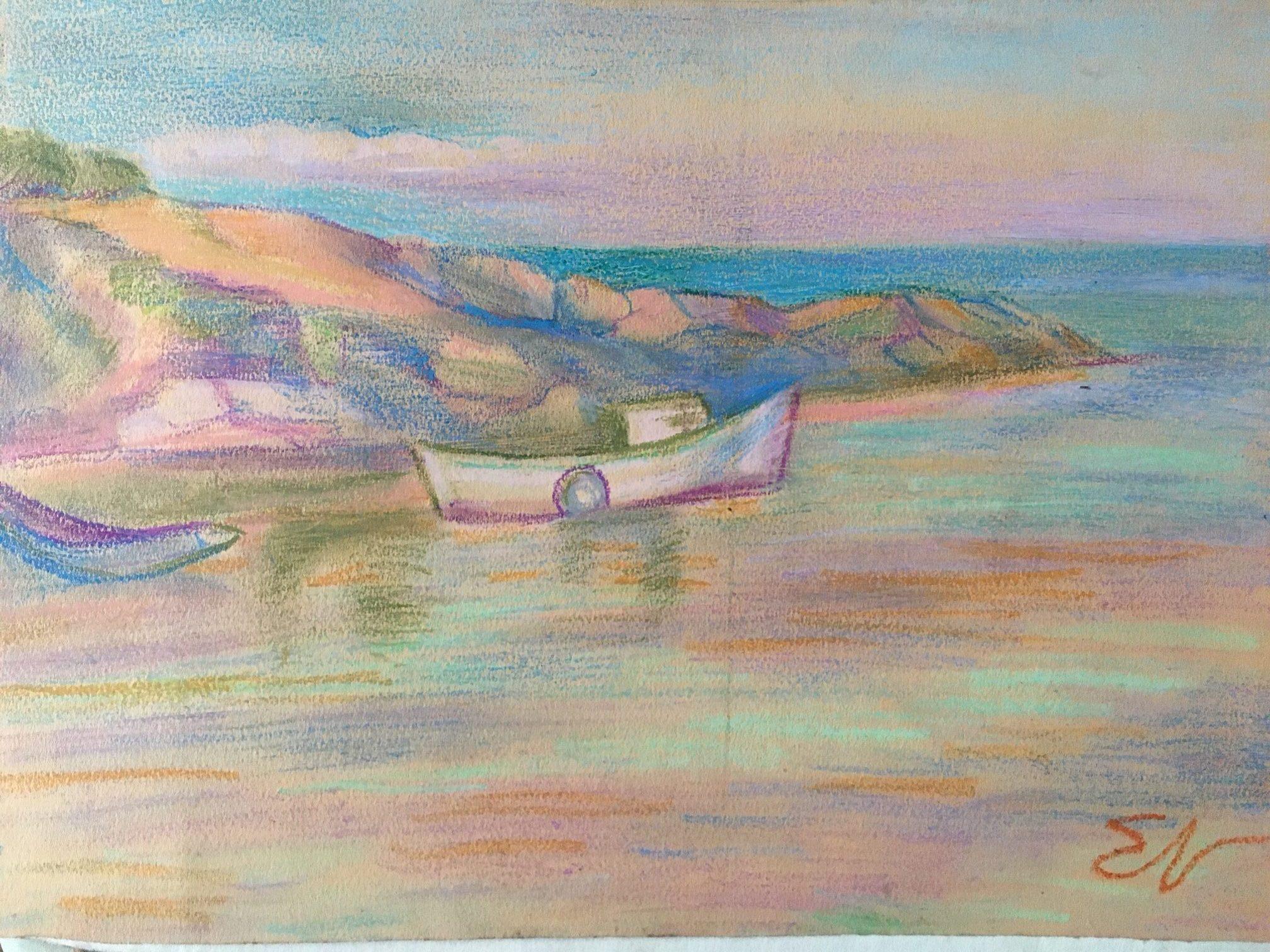Морски пейзаж – Елка Найденова